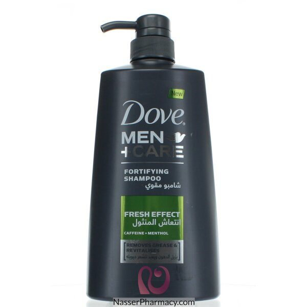 Dove Men + Care Fortifying Shampoo Fresh Effect - 700 Ml