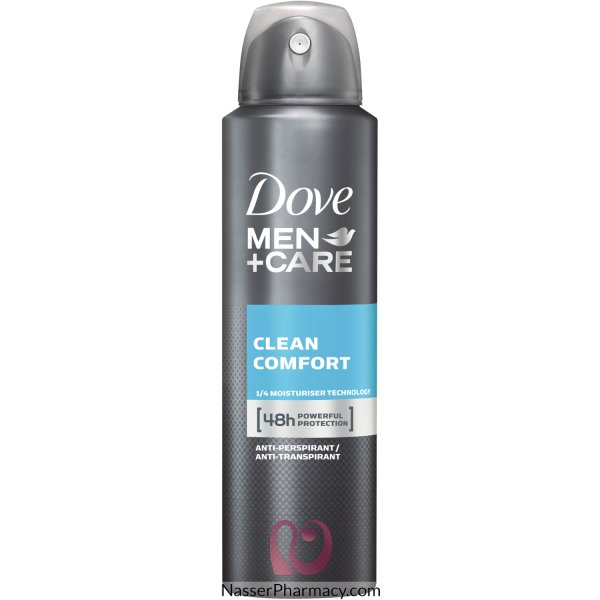 Dove Men Deodorant Apa Clean Comfort 150ml -39293