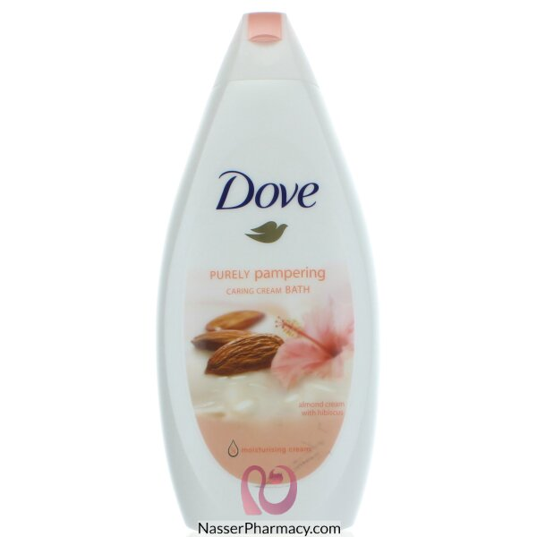 Dove Purely Pampering Body Wash, Almond Cream & Hibiscus - 500 Ml