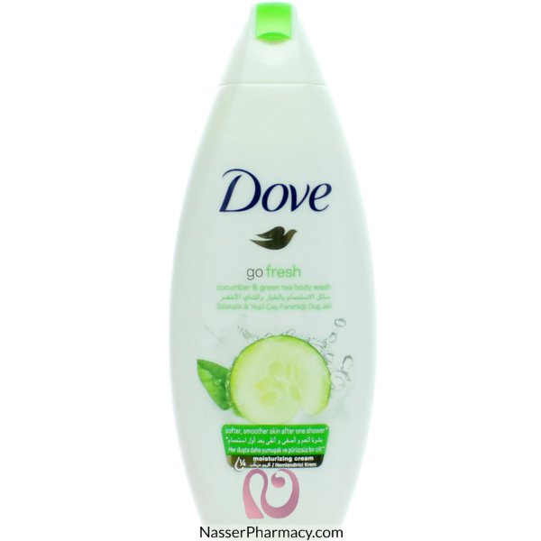 Dove Shwr Gel Fresh Touch 250 Ml