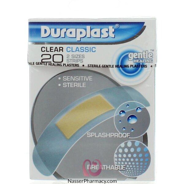 ديوربلاست لاصق طبي للجروح - 20 قطعة شفافة