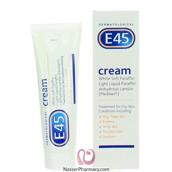 اي  E45  كريم للبشرة الجافة - 50 جم