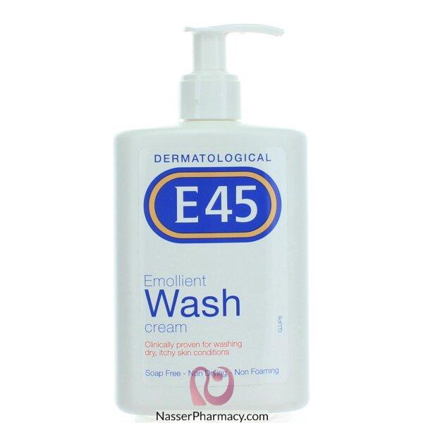 E45 Dermatological Emollient Wash Cream - 250ml