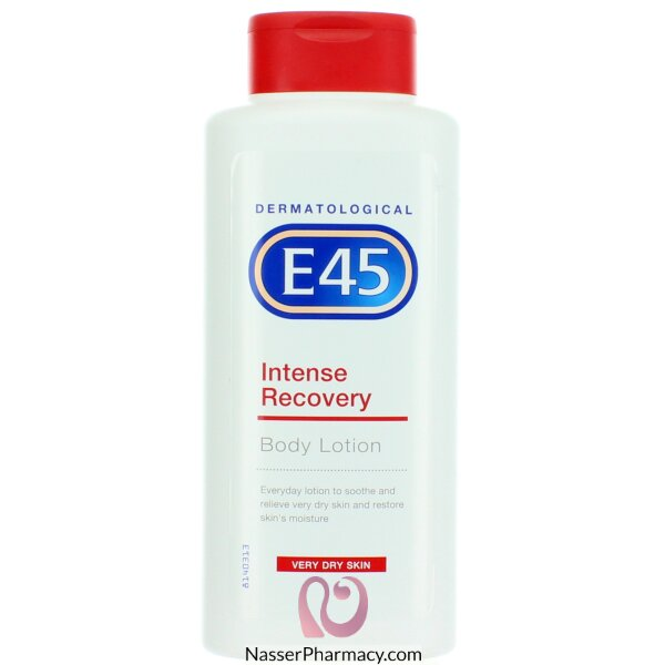 E45  Intense Recovery Body Lotion For  Very Dry Skin -400 Ml