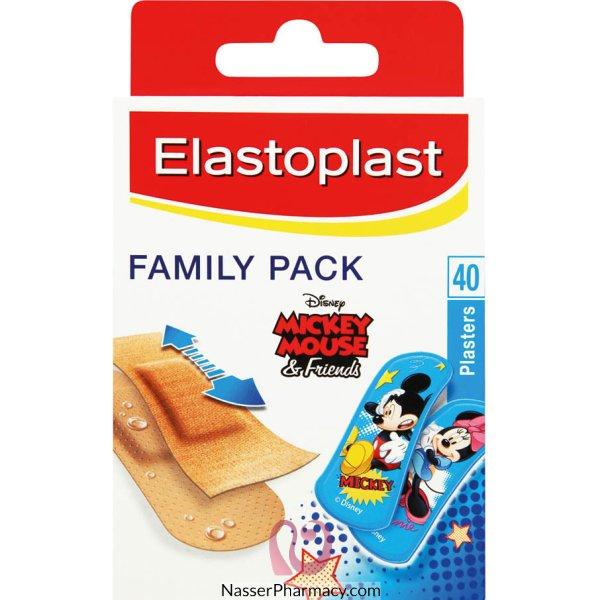 Elastoplast Family Pack 40 -53904