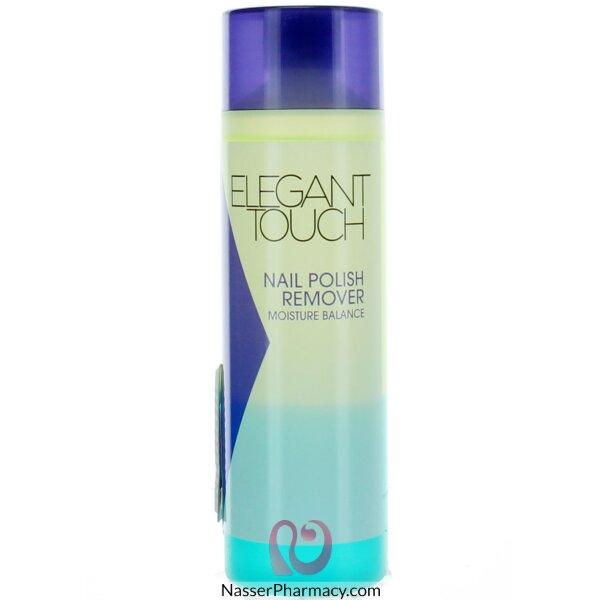 ايليجانت تاتش Elegant Touch مزيل طلاء الأظافر Moisture Balance  -200ml