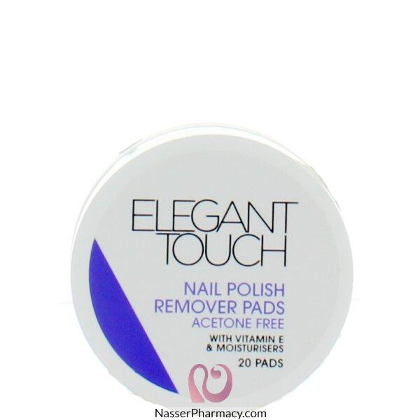 ايليجانت تاتش Elegant Touch  مناديل مبللة لازالة طلاء الأظافر