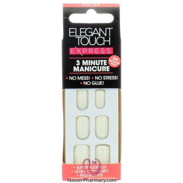 ايليجانت تاتش (elegant Touch  Express  )   أظافر لاصقة  Polished Brilliant