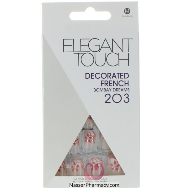 Elegant Touch Decorated French -bombay Dreams 203