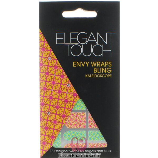 Elegant Touch Envy Wraps Bling-kaleidoscope - 18 Design