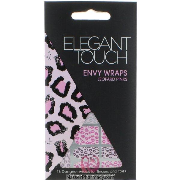 Elegant Touch Envy Wraps-leopard Pink
