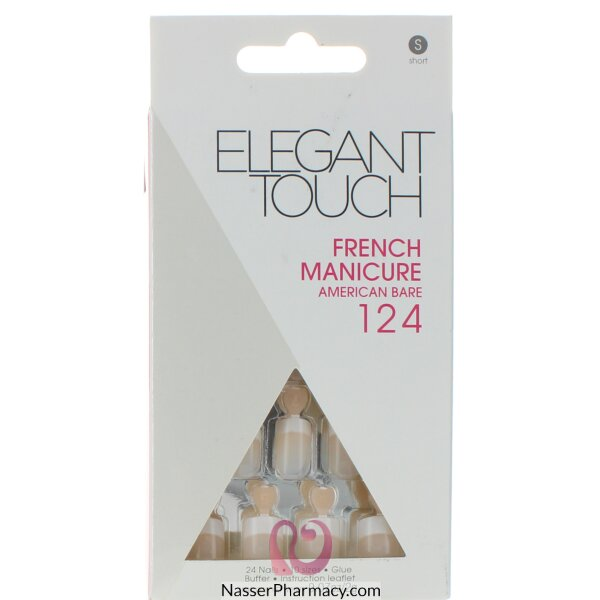 Elegant Touch French Nails Natural Bare