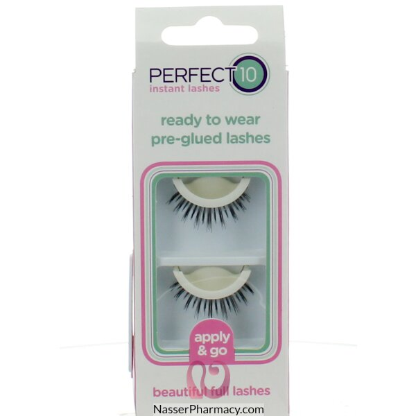 Elegant Touch  P10 Pre-glued Lashes # 1