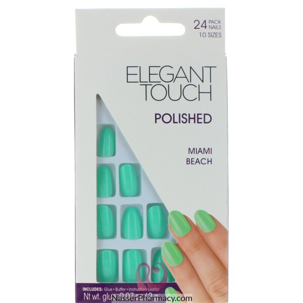 Elegant Touch Polished Nails-miami Beach
