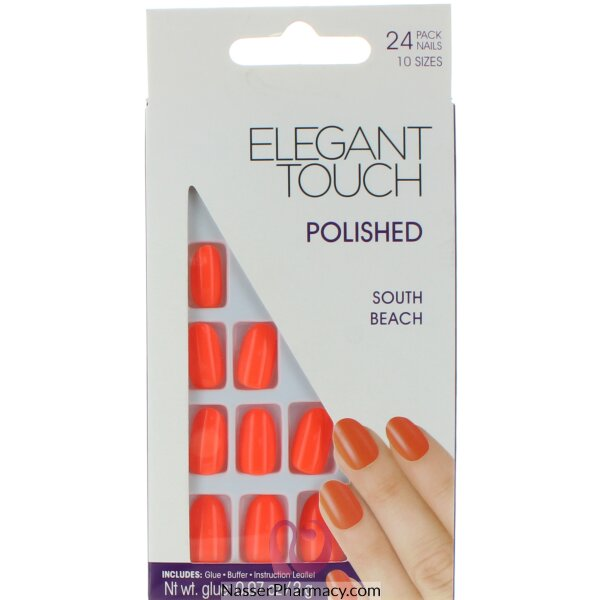 Elegant Touch Polished Nails-south Beach