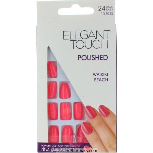 Elegant Touch Polished Nails-waikiki Beach