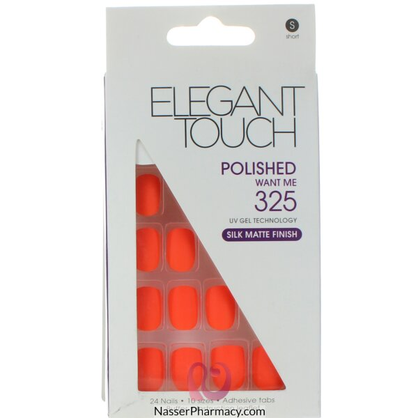 Elegant Touch Polished Nails -want Me Neon 325