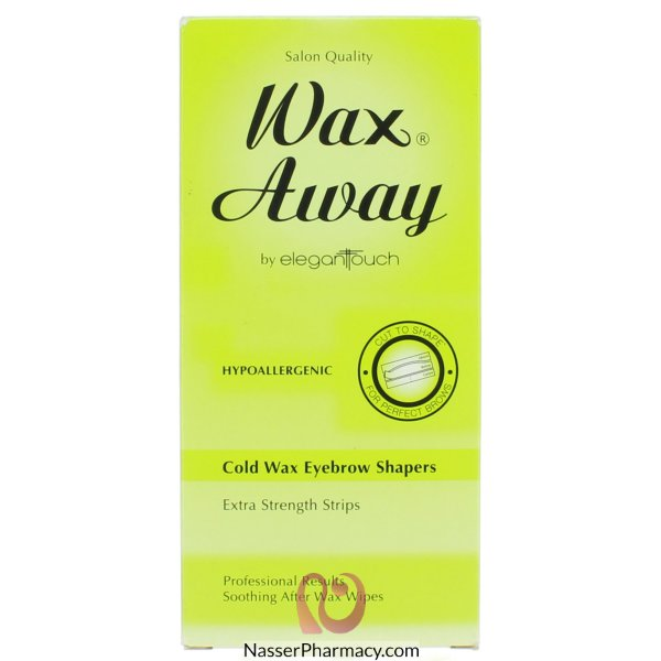 Z-wx Awy Eyebrow Cold Wax Strips-9011059