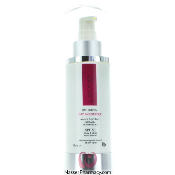 Elucent Day Anti-aging Moisturiser With Spf 50 Cream - 95 Ml
