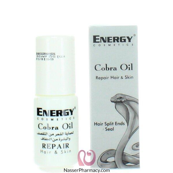 Energy Cosmetics Cobra Oil Hair & Skin Repair 30ml