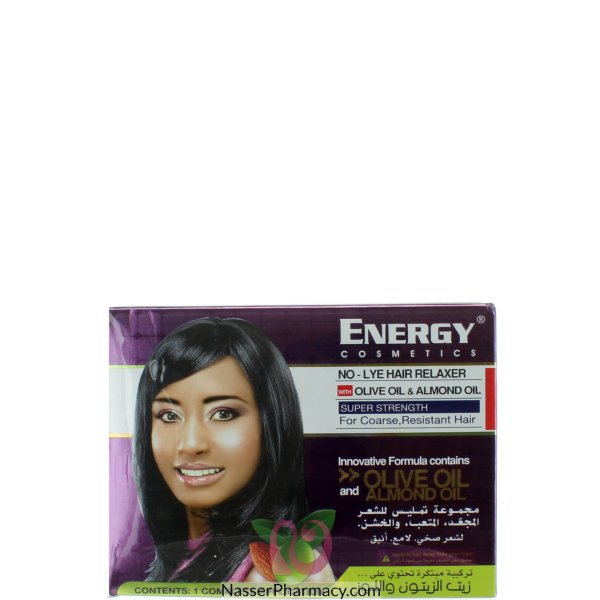 Energy Hair Relaxer Lanolin 16 Oz