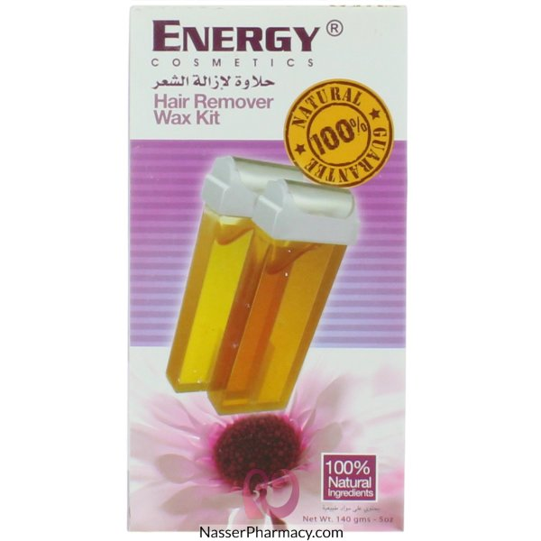 Energy Hair Remover Wax Kit 100% Natural