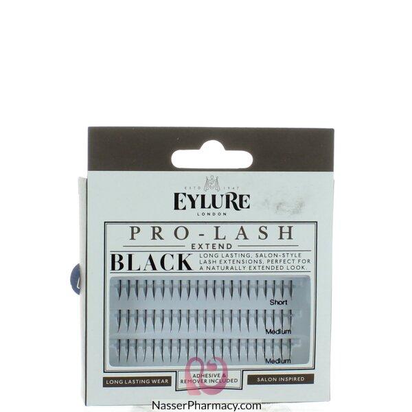 ايلورeylure  مجموعة رموش منفصلة سوداء ( قصير, متوسط)