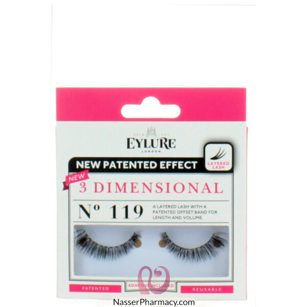 Eylure 3d Lashes 119
