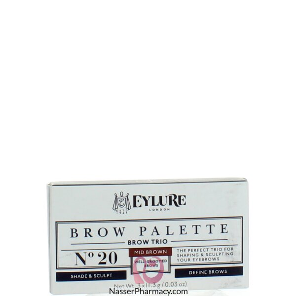 Eylure Brow Palette - Medium Brown