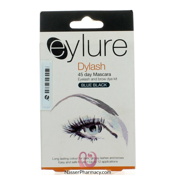 Buy Eylure Dylash 45 Day Mascara Blueblack Eyelash Brow Dye Kit