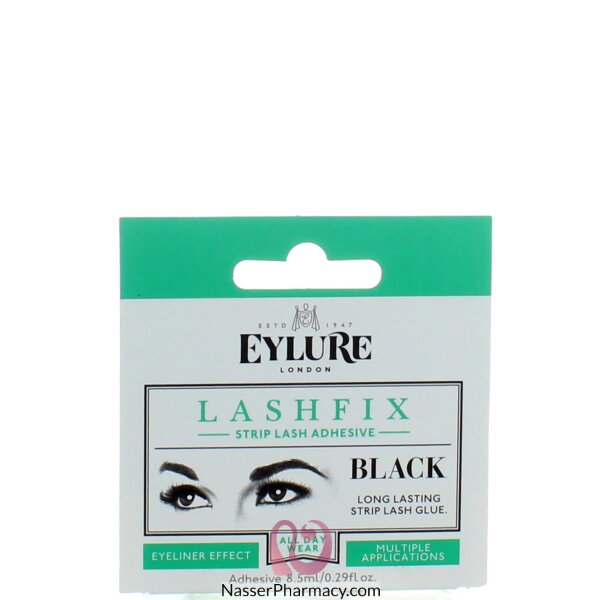 Eylure Lashfix False Lash Adhesive - Black (8.5ml)