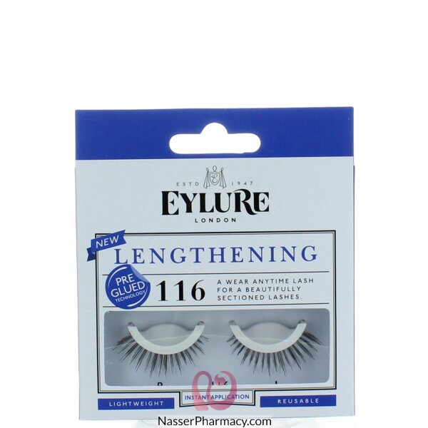 Eylure Lengthening Pre-glued No. 116
