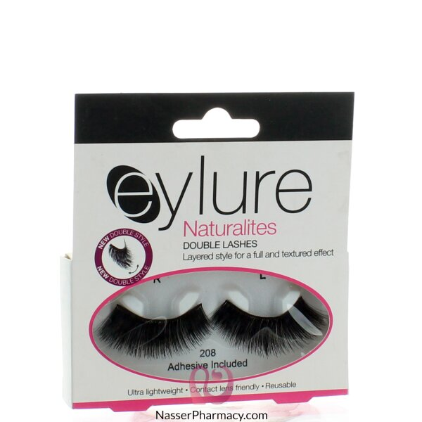 Eylure Naturalites Double Lashes - 208