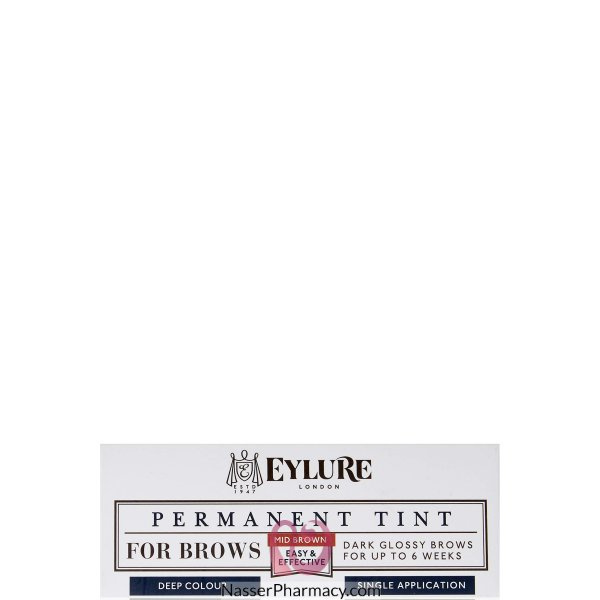 Eylure Permanent Brow Tint Mid Brown-6008114