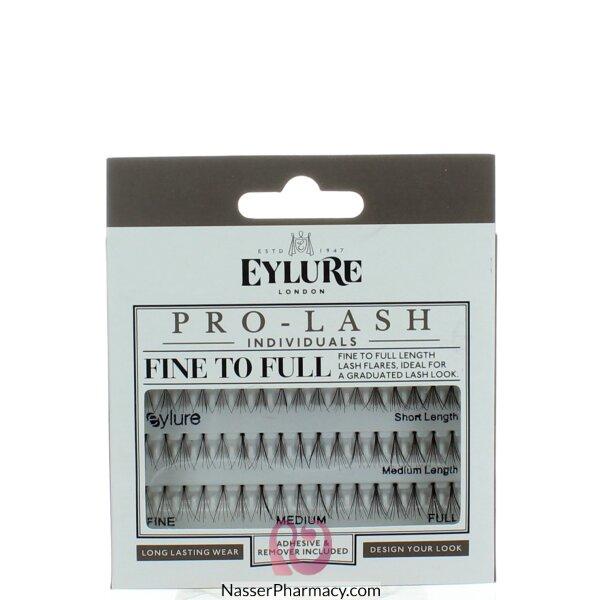 Eylure Pro-lash Individual Lashes Fine To Full