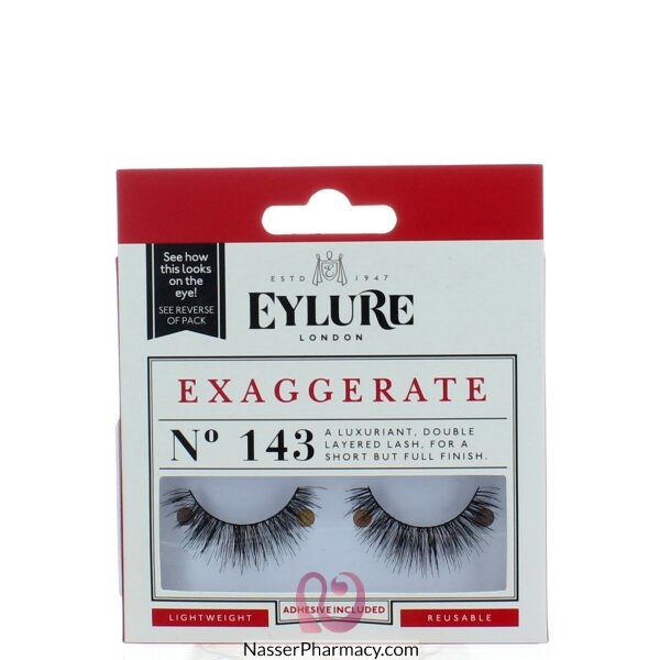 Eylure Strip Lashes No. 143 (exaggerate)
