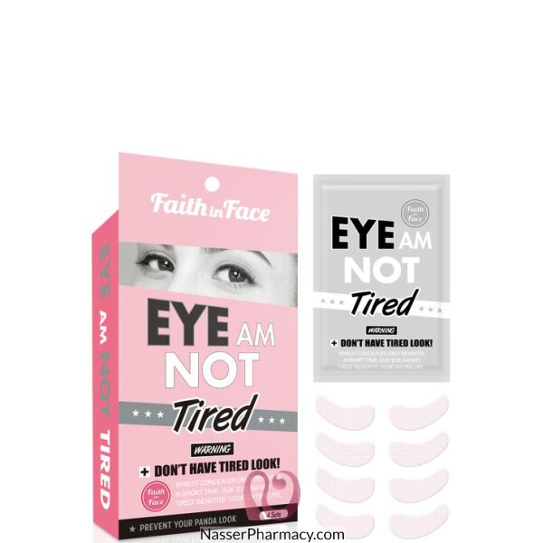 Faith In Face- Eye Am Not Tired Eye Patch