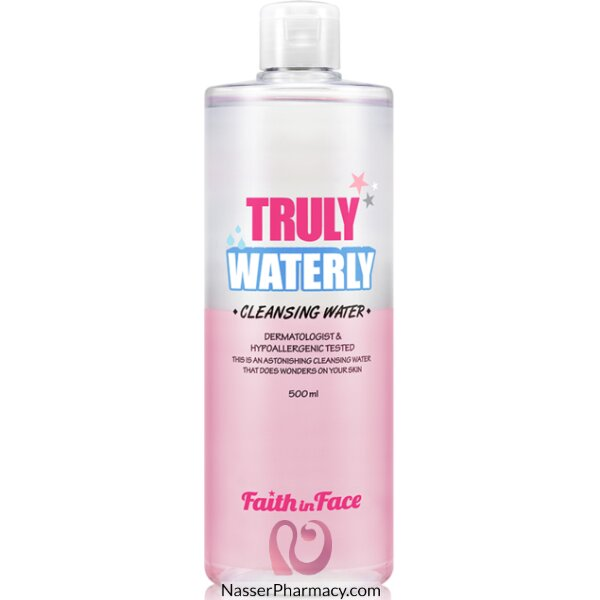 Faith In Face Truly Waterly Cleansing Water 500ml