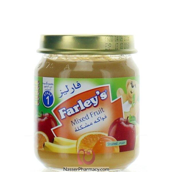 فارليز  Farley's مهروس الفواكة المشكلة - 120 جم  (من الشهر السادس )
