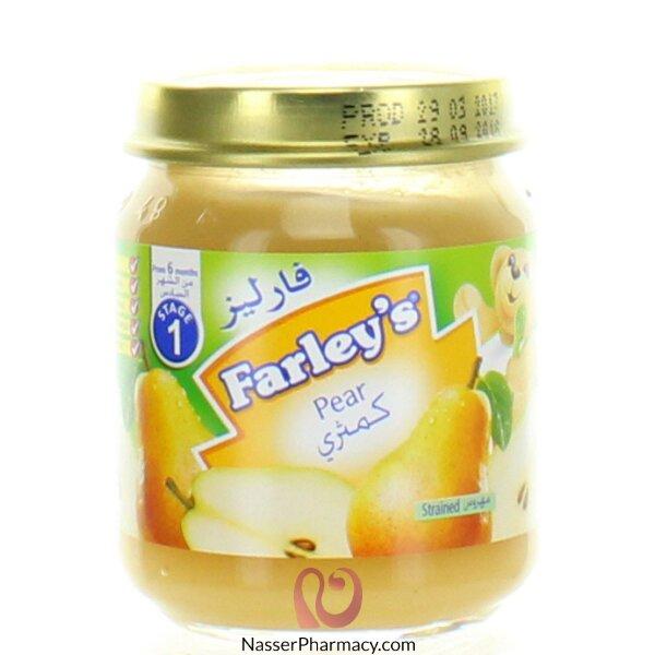 فارليز  Farley's مهروس الكمثرى - 120 جم  (من الشهر السادس )