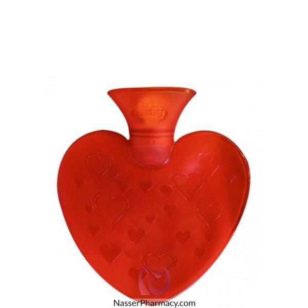 فاشي حقيبة الماء الساخنة على شكل قلب