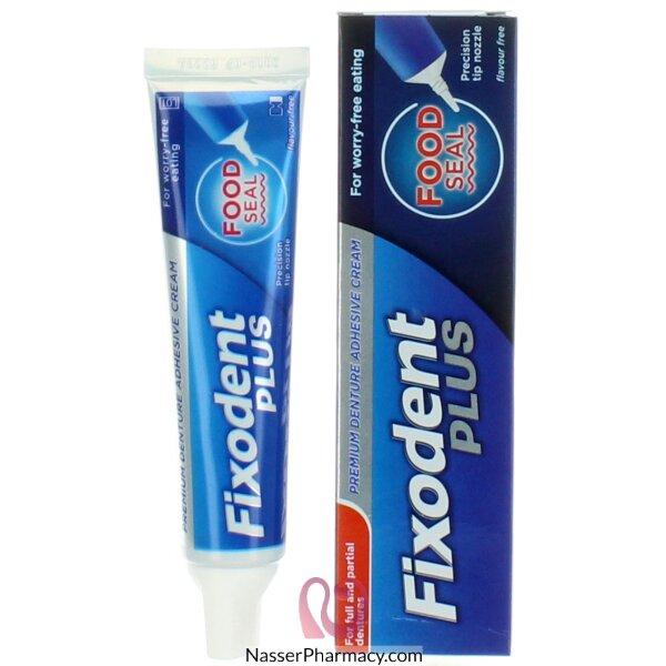 فيكسودنت بلس كريم مثبت لأطقم الأسنان بحماية فائقة من  تراكم الطعام 35 مل