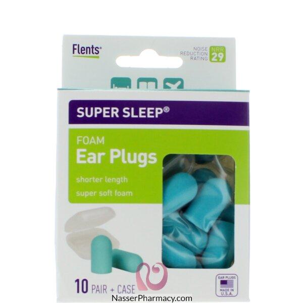 فلنتس (super Sleep) سدادة للأذن + حافظة
