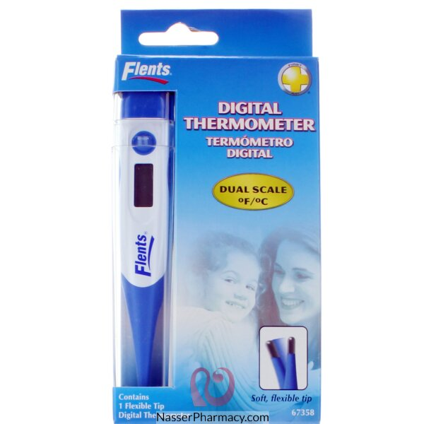Digital Thermometer With Case