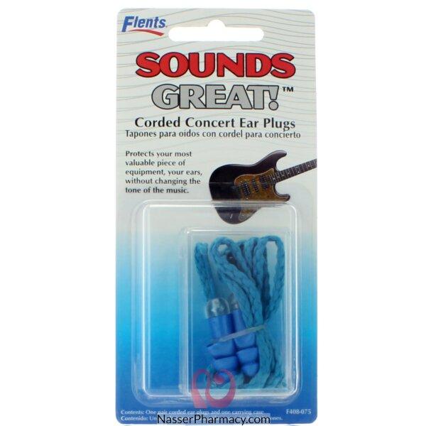 Flents Corded Concert Ear Plug