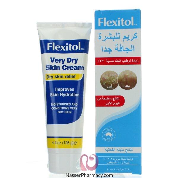 فليكسيتول Flexitol  كريم للبشرة الجافة جدا 125 غراما