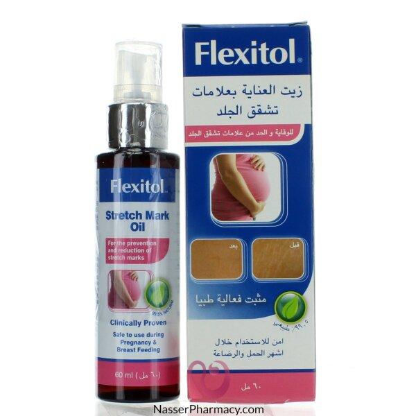 Flexitol Strech Mark Oil 60 Ml