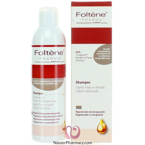 Foltene Pharma Shampoo For Thinning Hair Women 200 Ml