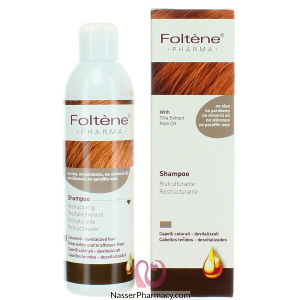 Foltene Shampoo Restructurant For Colored And Damage Hair 200ml