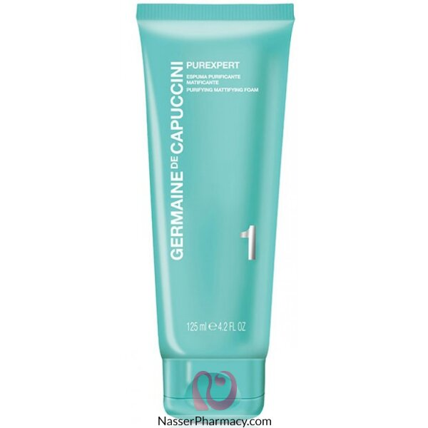 Germaine De Capuccini- Purexpert Facial Purifying Mattifying Cleansing Foam 125 Ml